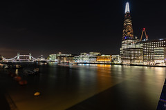 View from Southwark Bridge (pboolkah) Tags: london england unitedkingdom gb canon river shard thames bridge canon5d