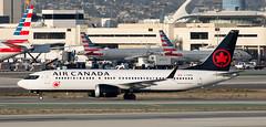 B737 | C-FSEQ | LAX | 20181014 (Wally.H) Tags: boeing 737 boeing737 b737 max max8 cfseq 506 aircanada lax klax losangeles airport
