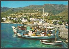 Naxos - Apollon - A pistoresque view (tico_manudo) Tags: naxos grecia greece turismoengrecia apollon boats barcos