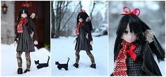 Mashiro Meets Snow (BblinkK) Tags: azone pureneemo mashiromunetani highschoofleet 16 anime doll
