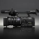 デジタルHDビデオカメラレコーダーの写真