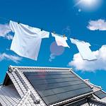 CIS太陽光発電システムの写真