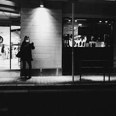 Osaka Snap! (takana1964) Tags: streetphotography snap streetsnap street snapshot streetshot citysnap citystreet city cityphotography blackandwhite monochrome bw olympus osakacity japan