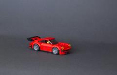 Red 911 Carrera (mcbrickster99) Tags: porsche 911 lego moc speedchampions carrerarsr car
