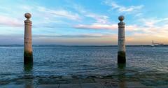 Lisboa, Portugal. (profundidadcampo) Tags: lisboa portugal atardecer rio tajo paisaje