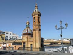 Chapel of El Carmen, Triana, Seville, Spain (geoff-inOz) Tags: seville architecture heritage triana bridge historic chapel building andalusia spain 1920s