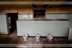 Basement Relief (ficktionphotography) Tags: abandoned abandonedreformschool abandonedschool toilets urbex urbanexploration