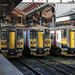 Three of a kind: Greater Anglia class 153 units at Norwich