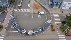 20181020_0429.jpg (Schaffner) Tags: muni california sanfranciscomunicipalrailway drone sanfrancisco streetcars unitedstates us lrv4