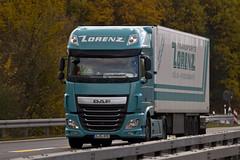 "DAF XF116 "" LORENZ "" (D) (magicv8m) Tags: daf tir trans transport lkw"