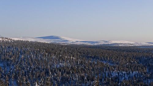 Evening view of Kilopää