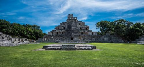 2018 - Mexico - Edzná - Gran Acropolis