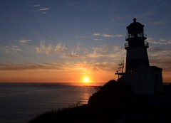 Cape Disappointment Lighthouse at sunset (Coast Guard News) Tags: uscg coastguard district13 pacificnorthwest washingtonstate capedisappointment lighthouse columbiariverbar washington unitedstates us