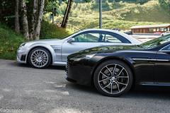 Aston Martin Rapide-S & CLK63BS  (in Explore December 25, 2018) (aguswiss1) Tags: 300kmh clk63 clk dreamcar amazingcar rapide flickrcar v12 carlover flickr aston carheaven mercedes amg auto carspotting clk63bs blackseries carporn sportscar fastcar carswithoutlimits supercar firstcarlounge exoticcar caroftheday astonmartin car