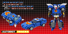 "TRANSFORMERS G1 TRACKS (""Orion Pax"") Tags: lego transformers tracks g1 autobots moc"