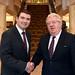 Minister Brendan Griffin & IHF President Joe Dolan