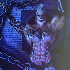 Gloom (SecondlifeInkBoy) Tags: secondlife second life sl muscle