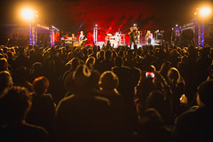 Night performance (Big Red Bash) Tags: bigredbash birdsville festival