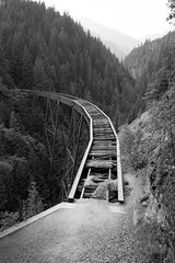 Ladner Creek Trestle (Sir_Francis_Barney) Tags: canada kanada british columbia train railway ladner