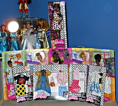 Mega Barbie Haul (DisneyBarbieCollector) Tags: mattel made to move team stacie barbie fashionistas dolls toys