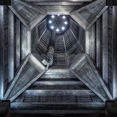 Concrete Monster (amateur72) Tags: augusteperret fujifilm lehavre normandie paysdecaux saintjoseph xf1024mm architecture church eglise mer plage xt1
