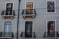 Wild windows (ericbaygon) Tags: window animal paint graffiti façade wall house maison art d750 nikon balcon portugal
