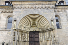 Imperial Cathedral Bamberg 2 (rschnaible) Tags: bamberg germany europe outdoor sightseeing building architecture old history historic imperial cathedral street photography