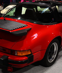 Porsche 911 Carrera (JoRoSm) Tags: lancaster insurance classic motor show nec birmingham car cars automobile auto nationalexhibitioncentre carshow 2018 sports performance classics yesteryear polished rides wheels canon 500d tamron porsche porker german supercar old 911 carrera red turbo whaletail 80s 1980s eos transport national exhibition centre indoor