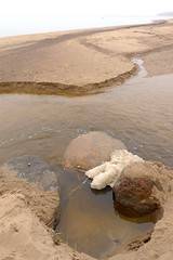 Schaum (claudipr0) Tags: lettland baltikum latvia strand ostsee sea beach balticsea saulkrasti