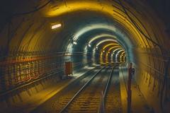 U5 Tunnel 1 #weilwirdichlieben (DOKTOR WAUMIAU) Tags: d7200 ishootraw nikon lightroom ubahn bvg bauxkunst tagderoffenenbaustelle sigma 50mm