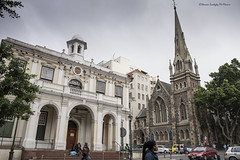 Old Gothic Church in Greenmarket Square (Hernan Linetzky Mc-Manus) Tags: capetown southafrica wild linetzky ciudaddelcabo