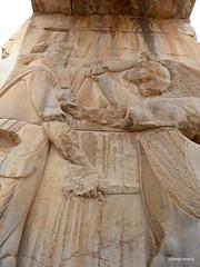 005 Hundred Column Hall (Sedsetoon), SE Doorway, Persepolis  (3).JPG (tobeytravels) Tags: artaxerxes xerxes ahurmazda alexanderthegreat