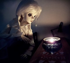 (claudine6677) Tags: bjd msd ball jointed doll asian dolls dollzone carter light darkness