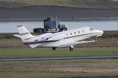 NetJets Cessna 560XL Citation XLS (DPhelps) Tags: kpdx pdx portland international airport oregon or parking garage airplane aircraft jet plane aviation airliner runways take off landing 10r 10l rain spotting d750 200500mm nja netjets n634qs cessna citation c56x excel