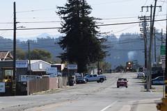 Street running in Watsonville (NikonRailfan24) Tags: