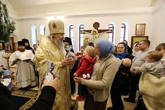 42. Рождественский молебен в Никольском 08.01.2019