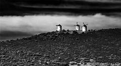 In storm and rain Bei Sturm und Regen (Mike Reichardt) Tags: blackwhite spielereien schwarzweiss landscape landschaft blancetnoir monochrome