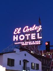 EL CORTEZ HOTEL LAS VEGAS NEVADA (9) (ussiwojima) Tags: elcortezhotel hotel gaming casino gambling lasvegas nevada neon advertising sign