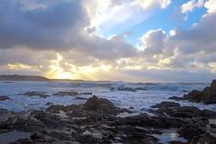 3973_unreal_nature (Realmantis) Tags: ocean cloud storm scape rock sunset