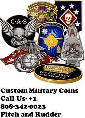 Custom Military Challenge Coins (pitchandrudderus) Tags: custom military challenge coins