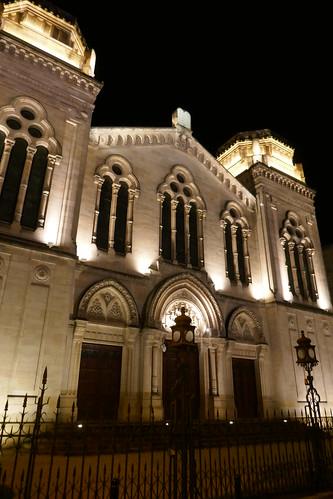 Grande synagogue de Bordeaux (1877-1882), rue du grand rabbin Joseph Cohen, Bordeaux, Gironde, Nouvelle-Aquitaine, France.