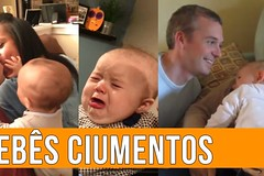 The Most Jealous Babies On The Internet (videosloving) Tags: jealous babies baby father mother babylove cutebaby funnyvideo funny funniest compilation comedy justforfun justforlaugh love viralvideo video videosloving viral trending trynottolaugh latest laughter new naughty cute