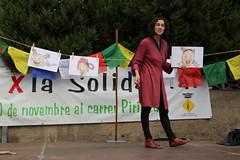Marta Gorchs a La Palma de Cervelló (comunicaciosocial) Tags: martagorchs palmadecervello firadelasolidaritat espectaclefamiliar cooperem o competim ocelldelafelicitat