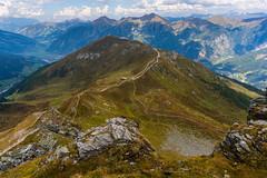 Gastein mountain landscape