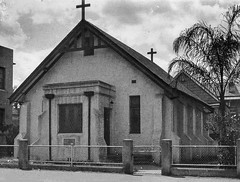 Undated (after 1931). The new St Thomas' Church, Grey Street, South Brisbane. (Love in a little black diary) Tags: brisbane anglicanchurch standrewsanglicanchurchsouthbrisbane southbrisbane historicbuilding heritagebuilding building queensland queenslandheritageregister