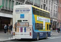 Dublin Bus RV512 (99D512). (Fred Dean Jnr) Tags: april2005 dublin dublinbus busathacliath dublinbusyellowbluelivery volvo olympian alexander r oconnellstreetdublin dublinbusroute13 rv512 99d512 megarear jervis shill t453kdm