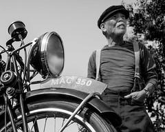 motorcyclist (fe2cruz) Tags: 28 2018 30mm bw ca emount huntingtonbeach ilce meet october sigma socal sony southerncalifornia vintagebikeoc a7r alpha bikeshow black blackwhite blackandwhite mirroless mirrorless monochrome motorbike motorcycle parkinglot α7r usa