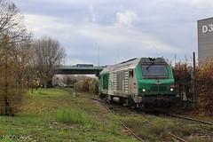 BB(4)75468 - HLP - Train n°357413 Gennevilliers > Le Bourget-Triage (nicolascbx) Tags: bb75400 bb75000 prima alstom siemens sncf fret locomotive train hlp lightengine gennevilliers portdegennevilliers lebourgettriage autumn automne bb75468