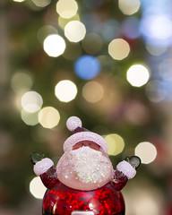 Santa Magic (s.d.sea) Tags: pentax k5iis 35mm macro santa christmas tree lights bokeh toy claus joy happy celebrate festive season winter holiday decorations decor fun home washington washingtonstate wa pacificnorthwest pnw