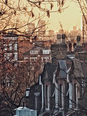 Leafy Hampstead is naked in Winter (marc.barrot) Tags: urbanlandscape rooftops roofs uk nw3 london hampstead willowroad